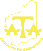 west australian association of teacher assistants logo